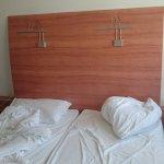 Die Betten war in Ordnung.