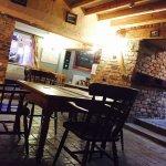 Open plan bar area