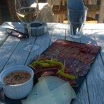 planchette ibérique et rosé