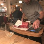 Tableside carving