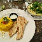Vegetarian green thai curry