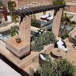 Our rooftop terrace is made of different corner where you can get privacy
