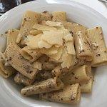 Overcooked, flavorless pasta