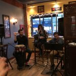 Lizje's trio provided the perfect soundtrack to complement the great food.