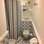 Decent size bathroom - shower a little small