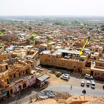 Hotel viewed from Jaisalmer fort