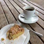 Nice cake and coffee at Bordeaux Quay