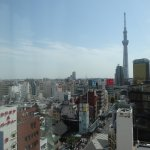 View from 12th floor Style C Classy King Double Room of Tokyo Skytree