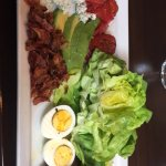 Steak with Cobb Salad