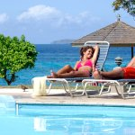 Enjoy the pool at Gallows Point Resort