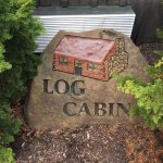 Log Cabin Sign
