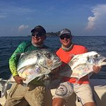 A pair of African Pompano