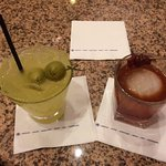 The Austin Margarita and the Bulleit Old Fashioned