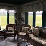 Sun room at the Raford
