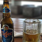 Popular, with good cause, Tiger Beer.