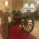Cannon in the main lobby