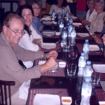 Overseas Adventure Travel group enjoys lunch