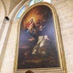 Saint Dominique recevant le rosaire de la Vierge Marie
