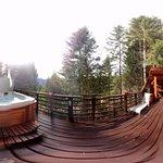 cabin balcony