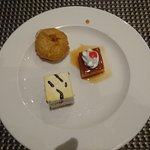 Typical desert from the buffet