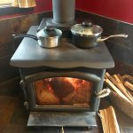 great wood stove