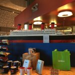 Titanic ship made out of Legos!
