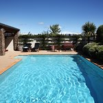 Or relax by the pool in the warm Summer months