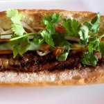 Vietnamese sub, Grilled pork or Beef