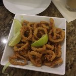 Great fried calamari! The seafood paella is a must try!! Very welcoming and friendly service!
