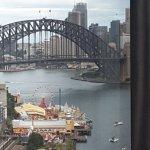 Luna Park Harbour Bridge Circular Quay backdrop