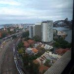 North Sydney Rail below