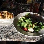 California salad + mac and cheese