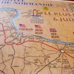 Placemat about the D-Day landings