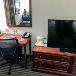 Desk, Dresser & TV