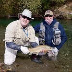 Fly fishing with Paul Mcandrew from Aspiring Fly fishing.