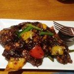 Black pepper fish