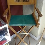 Lana Turner's Chair.