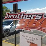 Brothers BBQ inside and out