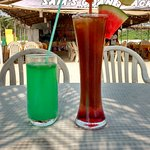 Mocktails at Sams Goan shack