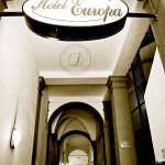 Hotel Europa in Florence, Italy near the Duomo - Photo: DeCiccophoto.com