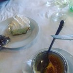 key lime pie and creme brulee
