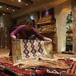 Being shown various types and styles of Rugs