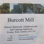 Foto de Burcott Mill Guesthouse