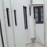View from bedroom window -