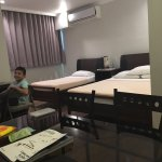 Family suite at hotel Tiffany in Laoag