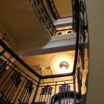 charmantes, altes Treppenhaus