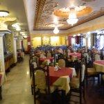 View of inside of Ririco restaurant.