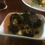 Black broccoli :(