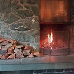 Beautiful open fires in the lounge and dinner room to keep you nice and warm!