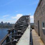Harbour bridge from pylon lookout